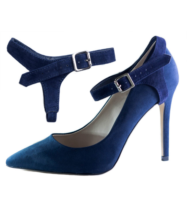 Suede Detachable Shoe Straps