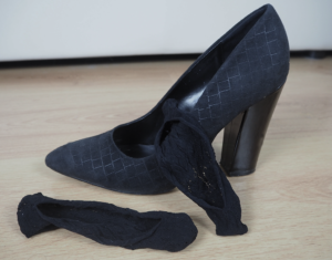 how to make loose heels fit